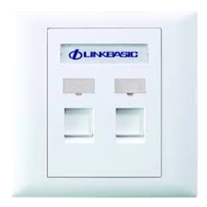 Linkbasic Faceplate : Double