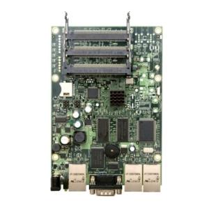 MikroTik RB-433AH - ROS L5 680Mhz 128MB 3xFE 3xM-PCI