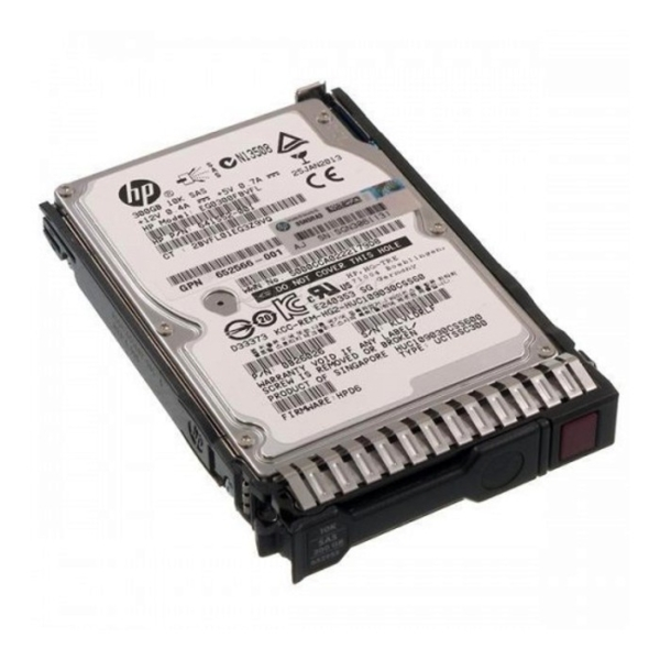 Hewlett Packard Enterprise 10K 300GB SAS Drive