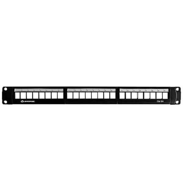 Linkbasic 24 Port Cat6 Unshielded Patch Panel (Jack Style)